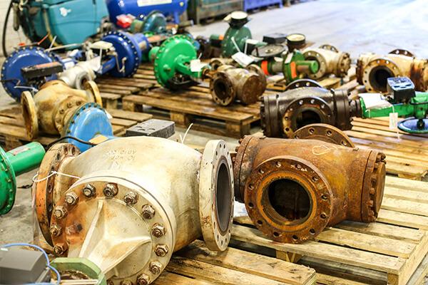 delivery of damaged valves