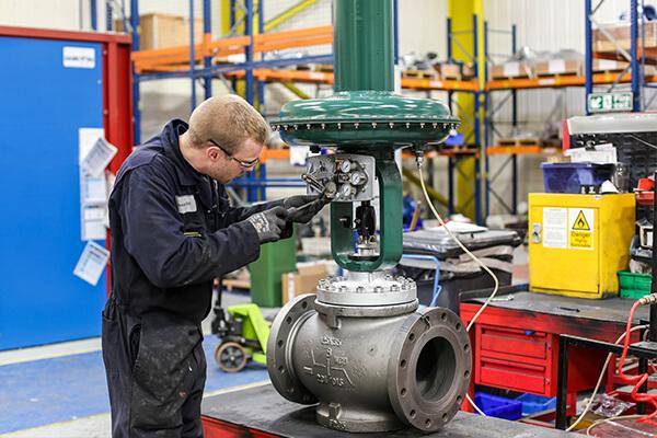 rebuilding a valve
